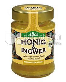 Produktabbildung: Allos Honig & Ingwer 250 g