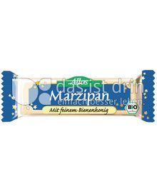Produktabbildung: Allos Marzipan mit feinem Bienenhonig 50 g