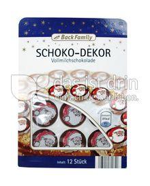 Produktabbildung: BackFamily Schoko-Dekor 12 St.