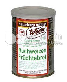 Produktabbildung: Werz Buchweizen Früchtebrot 250 g