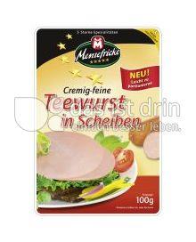 Produktabbildung: Menzefricke Teewurst in Scheiben 100 g