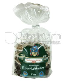 Produktabbildung: Haeberlein-Metzger Nürnberger Elisen-Lebkuchen 250 g
