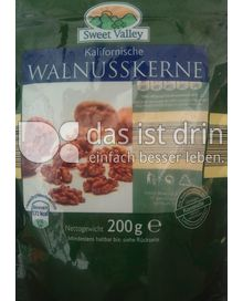 Produktabbildung: Sweet Valley Kalifornische Walnusskerne 200 g