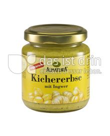 Produktabbildung: Alnatura Kichererbse mit Ingwer 120 g