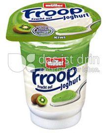 Produktabbildung: Müller Froop® Frucht auf Joghurt Kiwi 150 g