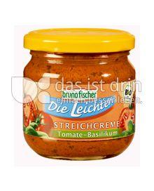 Produktabbildung: Bruno Fischer Die Leichten - Streichcreme Tomate-Basilikum 170 g