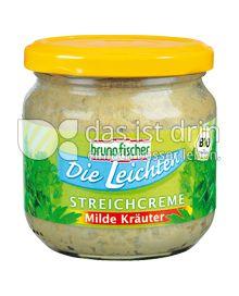 Produktabbildung: Bruno Fischer Die Leichten Streichcreme Milde Kräuter 170 g