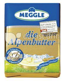 Produktabbildung: Meggle die Alpenbutter 125 g