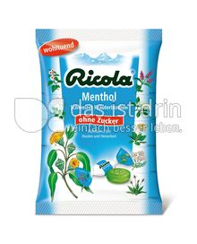 ricola menthol 235 0 kalorien kcal und inhaltsstoffe. Black Bedroom Furniture Sets. Home Design Ideas