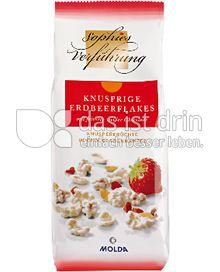Produktabbildung: Sophies Verführung Knusprige Erdbeerflakes 100 g