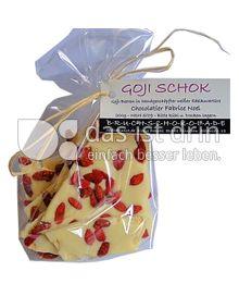 Produktabbildung: Bruchschokolade Goji Schok 200 g