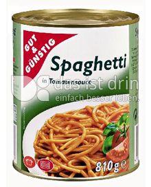 Produktabbildung: Gut & Günstig Spaghetti in Tomatensauce 800 g