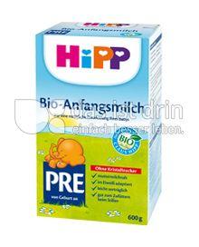 Produktabbildung: HiPP Bio-Anfangsmilch PRE 600 g