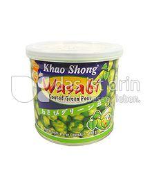 Produktabbildung: Khao Shong Wasabi Coated Green Peas 140 g