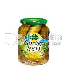 Produktabbildung: Kühne Gurken Leicht 720 ml