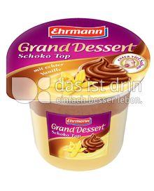 Produktabbildung: Ehrmann Grand Dessert Schoko-Top 200 g