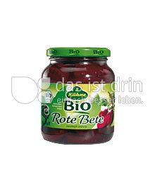 Produktabbildung: Kühne Bio-Rote Bete Scheiben 370 ml