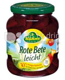 Produktabbildung: Kühne Rote Bete leicht 370 ml