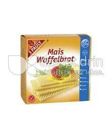 Produktabbildung: 3 PAULY Mais Waffelbrot 100 g