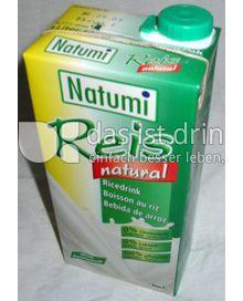 Produktabbildung: Natumi Reisdrink Natur 1 l