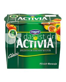 Produktabbildung: Danone Activia Pfirsich-Maracuja 115 g