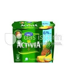 Produktabbildung: Danone Activia 0,1% Fett Ananas 115 g