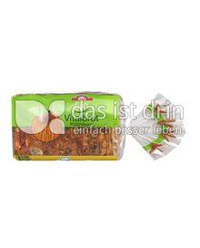 Produktabbildung: WEFA bio-Vitalbrot Kürbiskern 750 g