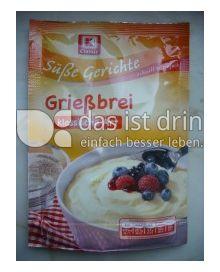Produktabbildung: K-Classic Süße Gerichte Griessbrei 89 g