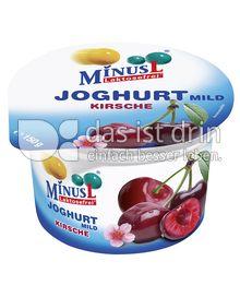 Produktabbildung: MinusL Laktosefreier Joghurt mild Kirsche 150 g