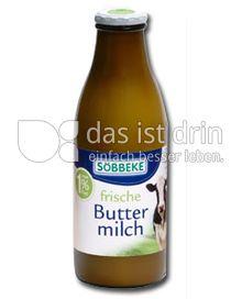 Produktabbildung: Söbbeke frische Buttermilch 1 l