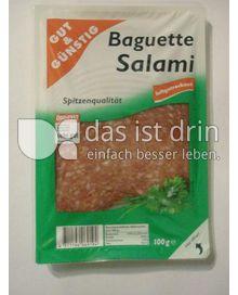 Produktabbildung: Gut & Günstig Baguette Salami 100 g