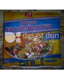 Produktabbildung: K-Classic Knusper Kartoffeltaschen mit Frischkäse und Kräuter 360 g