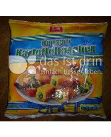 Produktabbildung: K-Classic Knusper Kartoffeltaschen mit Spinat und Mozzarella 360 g