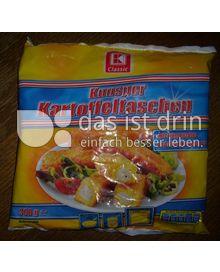 Produktabbildung: K-Classic Knusper Kartoffeltaschen mit Emmentaler und Bechamelsauce 360 g