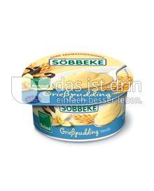 Produktabbildung: Söbbeke Grießpudding Vanille 150 g