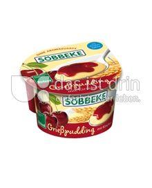 Produktabbildung: Söbbeke Grießpudding mit Kirschen 150 g