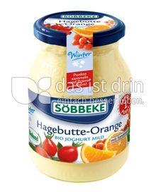 Produktabbildung: Söbbeke Hagebutte-Orange Bio Joghurt Mild 500 g