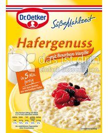 Produktabbildung: Dr. Oetker Hafergenuss mit Bourbon Vanille 124 g