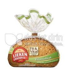 Produktabbildung: Lieken Urkorn Vitaminbrot Fit & Vital 400 g
