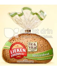 Produktabbildung: Lieken Urkorn Weizenbrot Fit & Vital 500 g