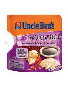 Produktabbildung: Uncle Ben's® Wok Sauce Kantonesisch Soja & Sesam 150 g
