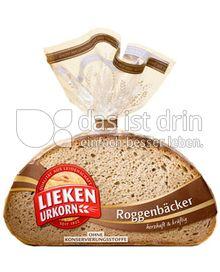 Produktabbildung: Lieken Urkorn Roggenbäcker 500 g