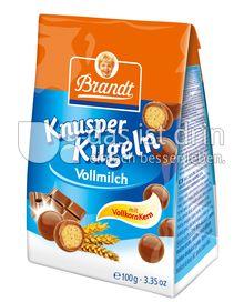 Produktabbildung: Brandt Knusperkugeln Vollmilch 100 g