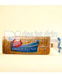 Produktabbildung: Lieken Urkorn Vollkorn-Dreikorn Toast 500 g
