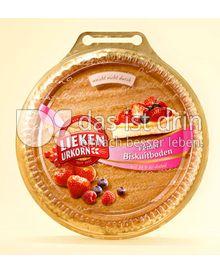 Produktabbildung: Lieken Feiner Biskuit Tortenboden 250 g