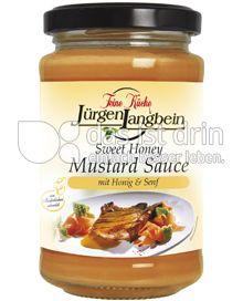 Produktabbildung: Feine Küche Jürgen Langbein Sweet Honey Mustard Sauce 200 ml