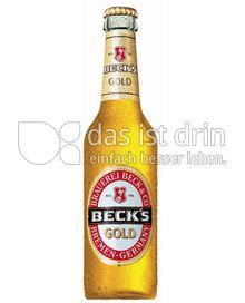 Produktabbildung: Beck's Gold 0,33 l