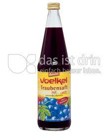 Produktabbildung: Voelkel Traubensaft rot 700 ml