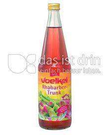 Produktabbildung: Voelkel Rhabarber-Trunk 700 ml