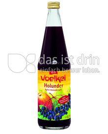 Produktabbildung: Voelkel Apfel-Holunder-Saft 700 ml